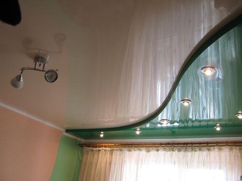 Купить Натяжные потолки двухуровневые, Алчевск, Украина