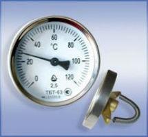 Термометр биметаллический трубный ТБT