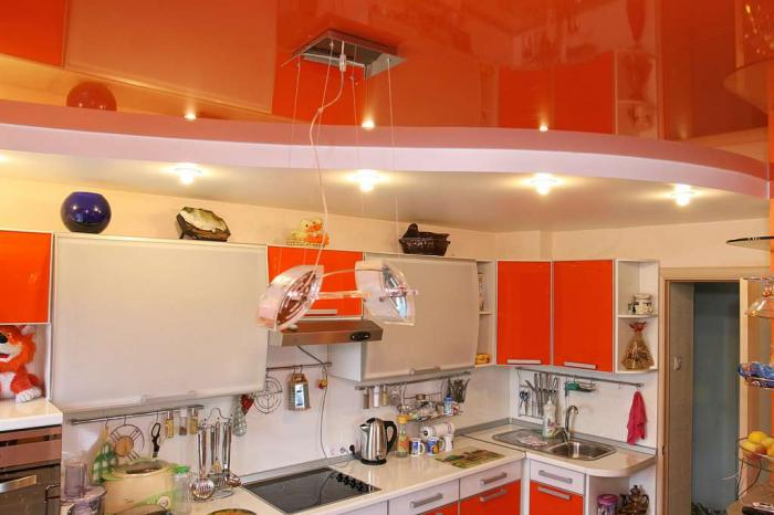 Купить Натяжные потолки для кухни, Алчевск, Украина