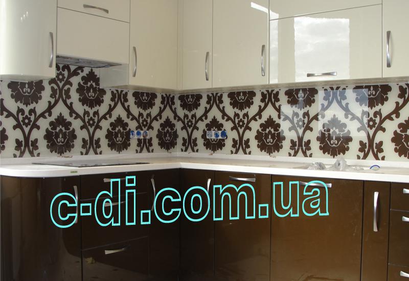 Стеклянный фартук для кухни  украина