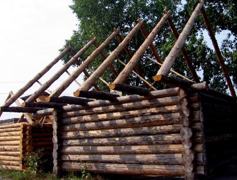 Купить Дома деревянные срубы в Украине под ключ