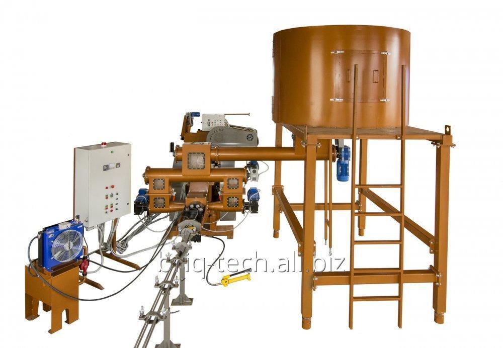 Пресс брикетирующий ударно механический модели ПБУ-070-800 М