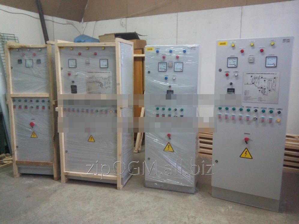 Электрошкафы (пульты управления) линиями гранулирования ОГМ и линия АВМ