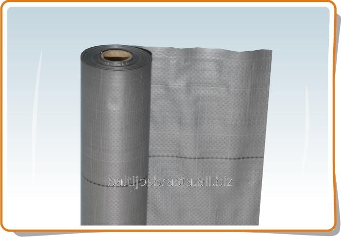 Подкровельна плёнка Silver, гидро - пароизоляция, 75 м2