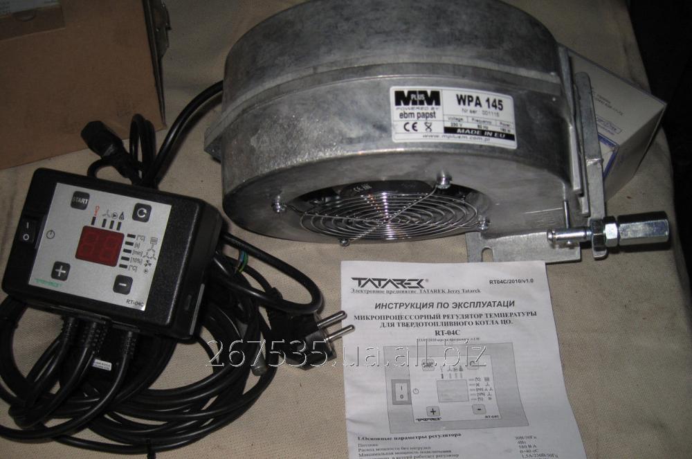 Купить Блок управления для твердотопливных котлов RT-04C