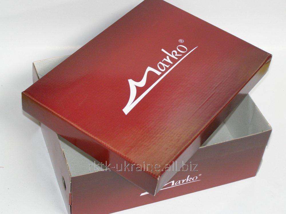 Обувная коробка производители