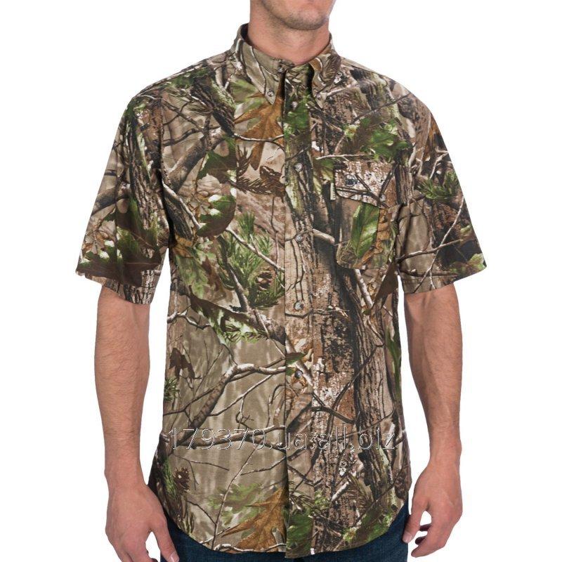Рубашка для охоты с коротким рукавом Beretta AP Camo Signature Shooting Shirt
