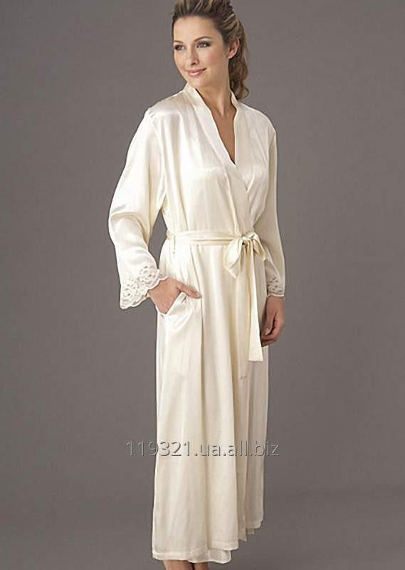 The dressing gown is silk female long buy in Kiev