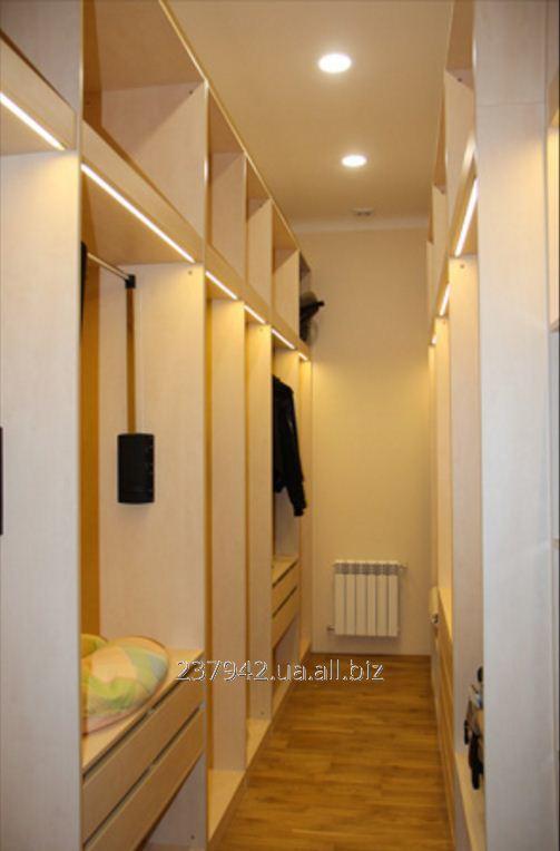 Гардеробный шкаф модель 1