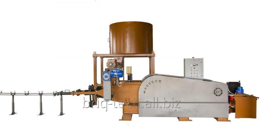 Бикетирующий пресс ПБУ-090-900 для прессования отходов основного производства
