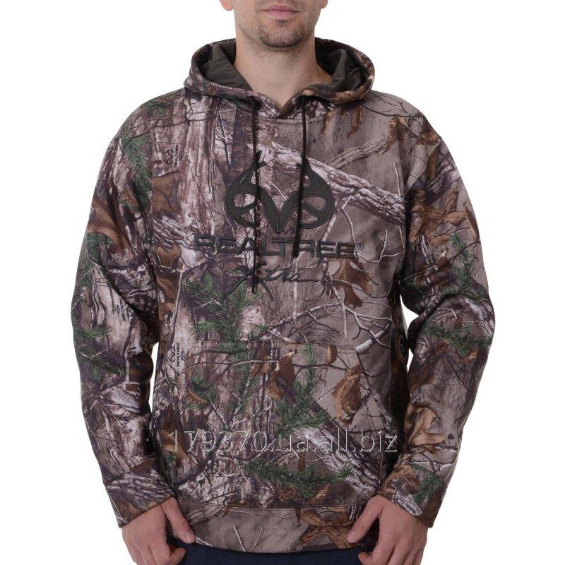 Толстовка для охоты и рыбалки Men's Realtree & Mossy Oak Camo Performance Pullover Fleece Hoodie