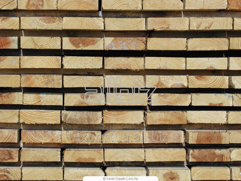 Доски мягких пород древесины. Сосна или ель, естественной влажности. Размер 30х150х(4000, 4500, 6000), на экспорт