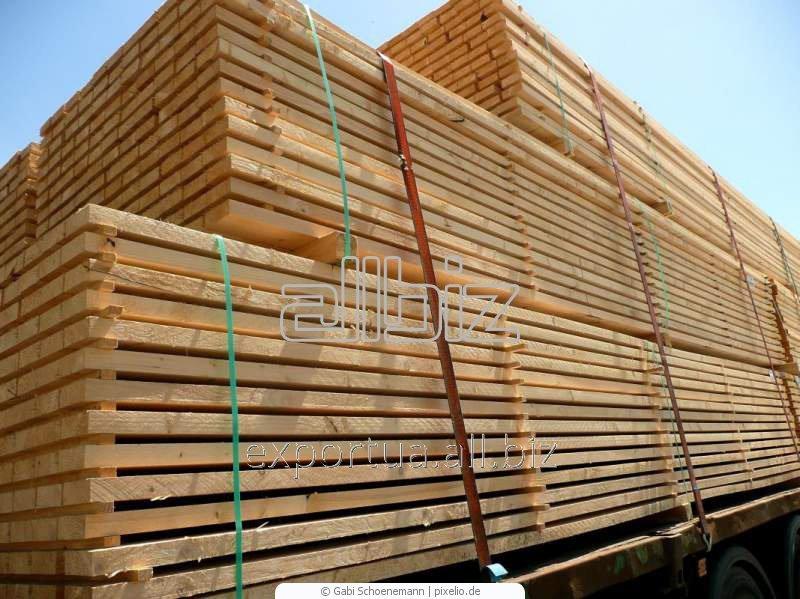 Доски мягких пород древесины. Сосна или ель, естественной влажности. Размер 50х150х(4000, 4500, 6000), на экспорт