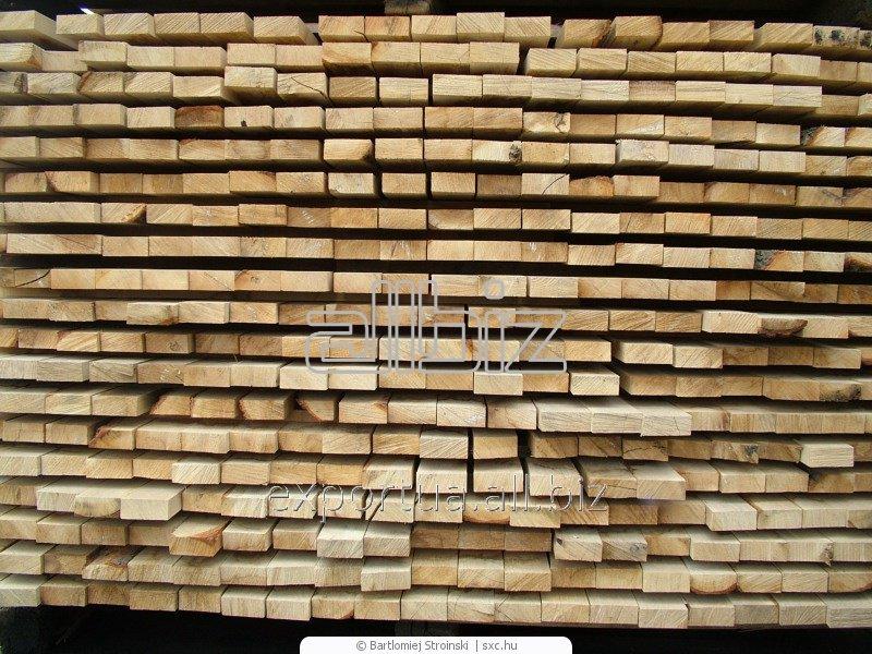 Лесоматериалы. Сосна или ель, доска естественной влажности. Размер 40х100х(4000, 4500, 6000), на экспорт