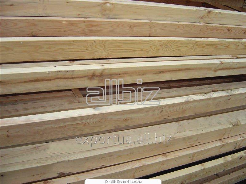 Лесоматериалы. Сосна или ель, доска естественной влажности. Размер 40х200х(4000, 4500, 6000), на экспорт