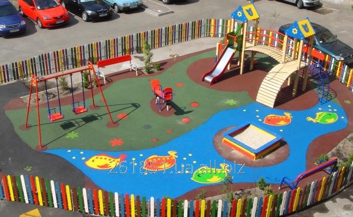 Купить Покрытия для детских игровых площадок