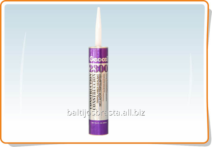 Купить Герметик GEOCEL 2300, однокомпонентный трехполимерный на основе полиуретана