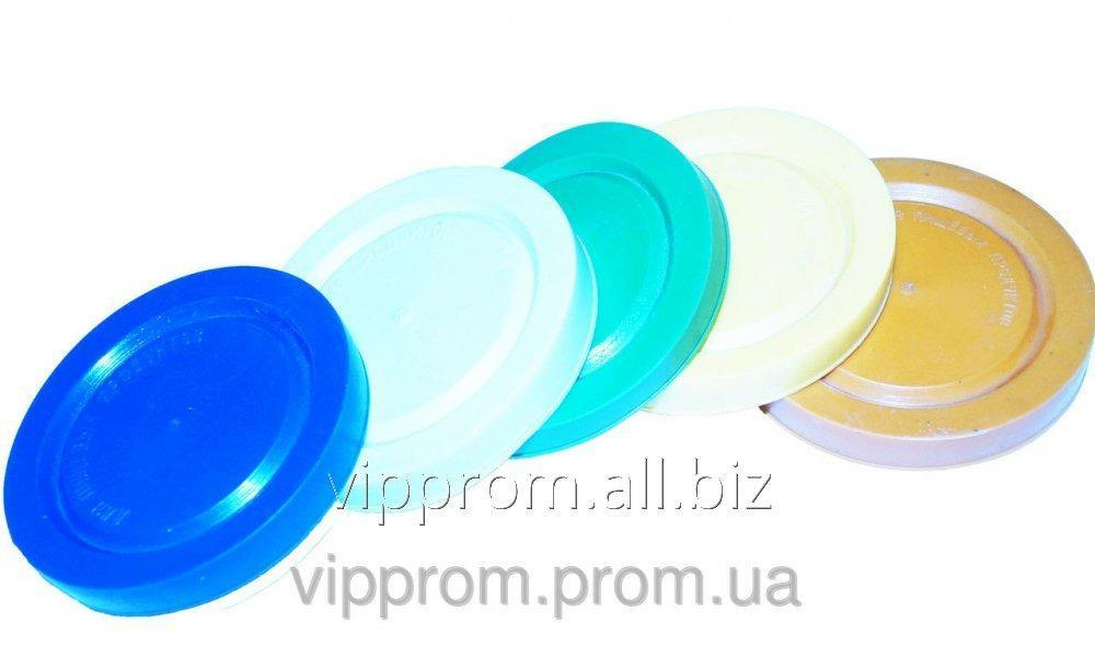 Plastic lid under cold color 200 PCs./mesh, code 664