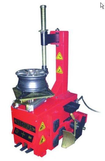 The machine for mounting and dismantle of tires and cameras of cars (semiautomatic device), the Equipment for car service