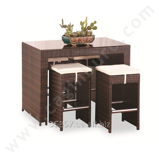 Купить Комплект ротанговой мебли Sentetik Rattan Bar Seti, код AT 143