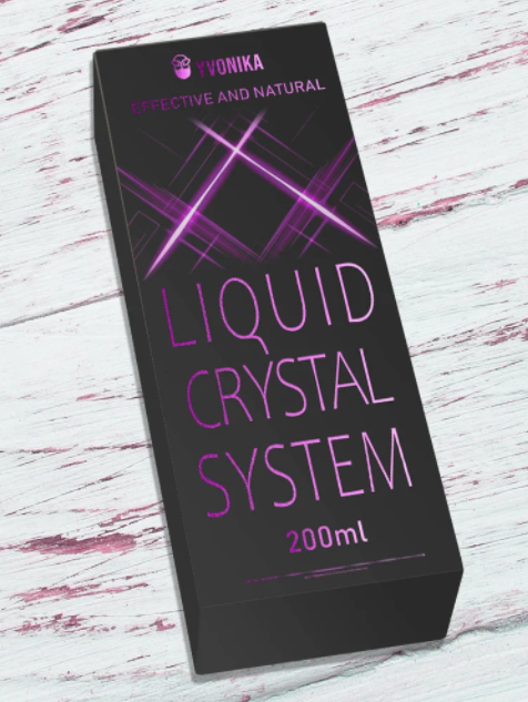 Спрей для роста волос Liquid Crystal System ликвид кристал систем