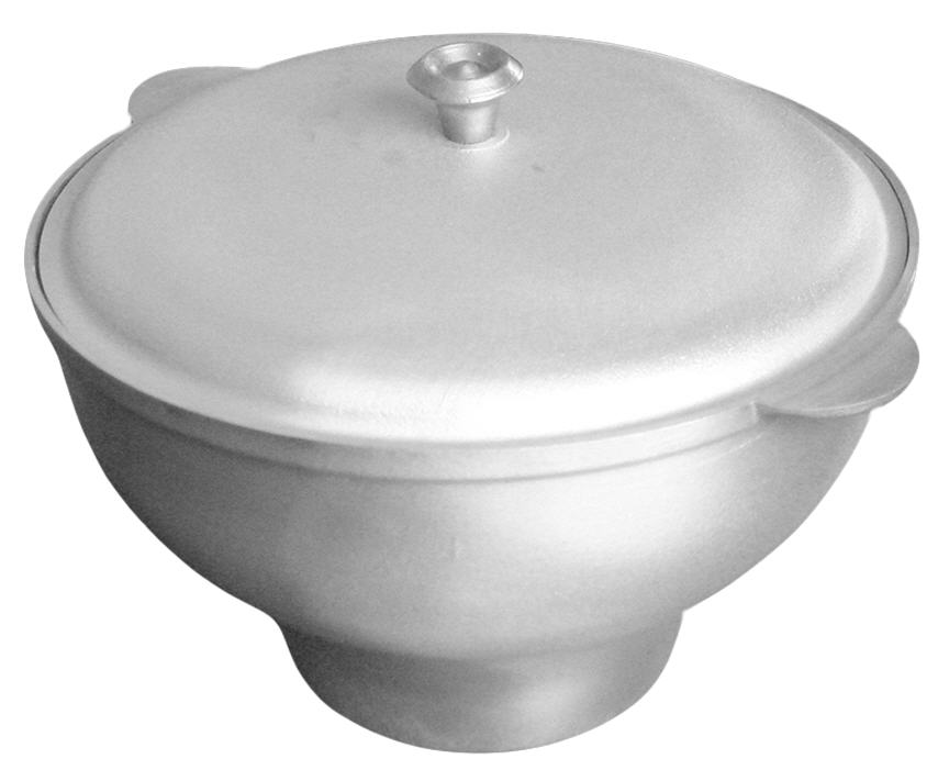 Buy Cauldron of kitchen and oven rounded shape of 6 l.