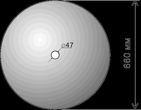Диск БДТ7 сферический