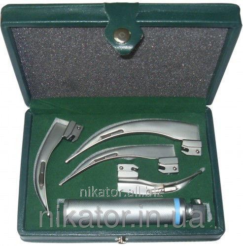 Ларингоскоп Mcintosh в наборе с клинками
