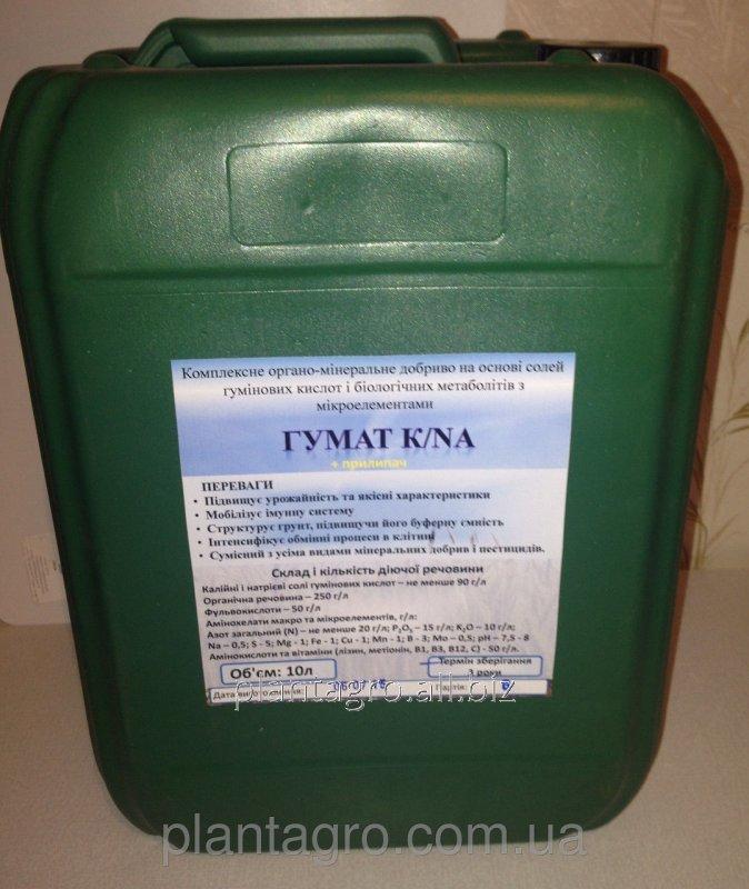 Купить Органо-минеральный коктейль гумат калия/натрия