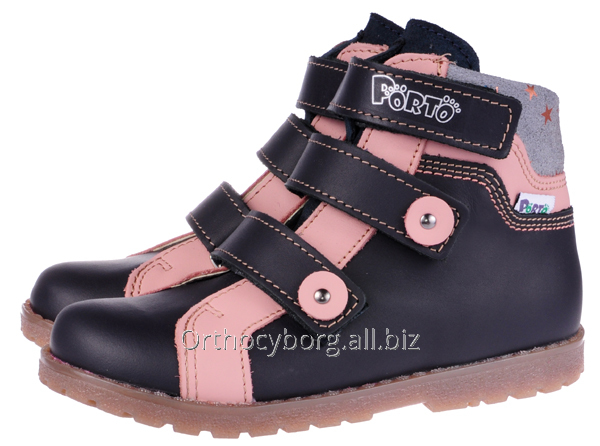 Купить Ортопедические демисезонные ботинки 5100-73