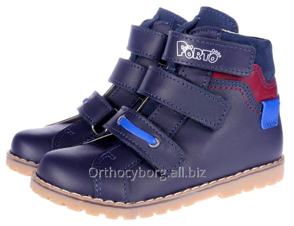 Ортопедические демисезонные ботинки 5100-77
