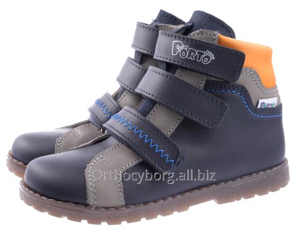 Купить Ортопедические демисезонные ботинки 5100-78
