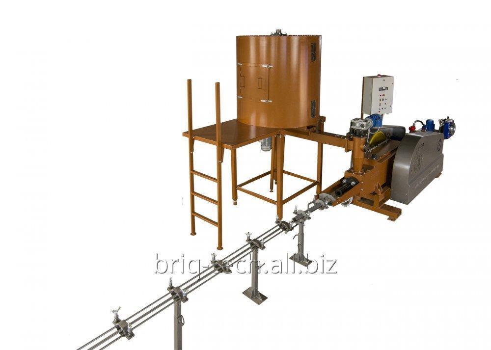 Купить Брикетировщик ПБУ-060-400 для производства топливных брикетов