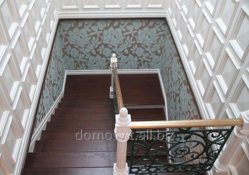 Деревянные панели для стен дома, Киев