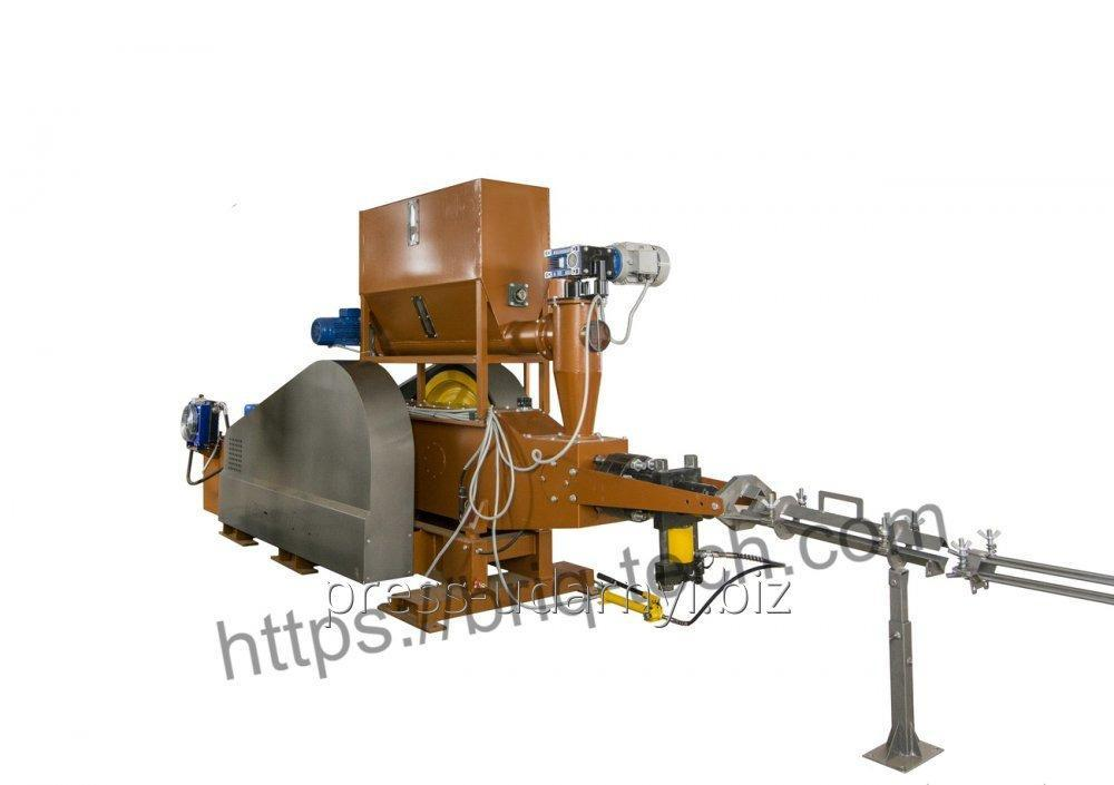 Купить  Ударно механический пресс для брикетирования древесины ПБУ-090-900