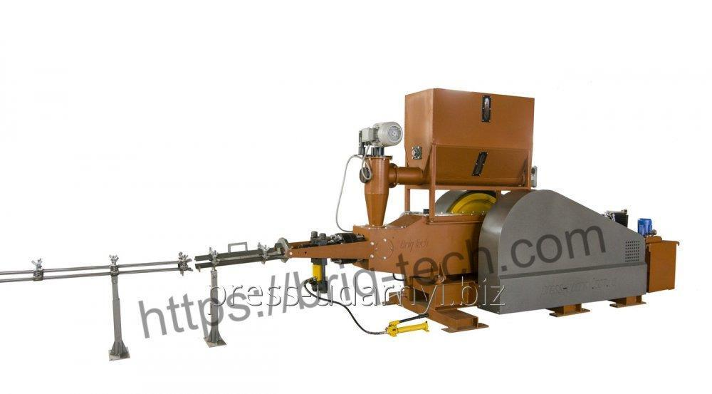 Press the bricketing with great dispatch mechanical PBU-080-900, productivity of 900-1200 kg/h