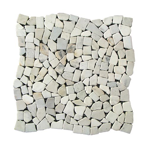 Купить Мозаика Стар. МКР-ХС (хаотичная) 6 мм Mix White