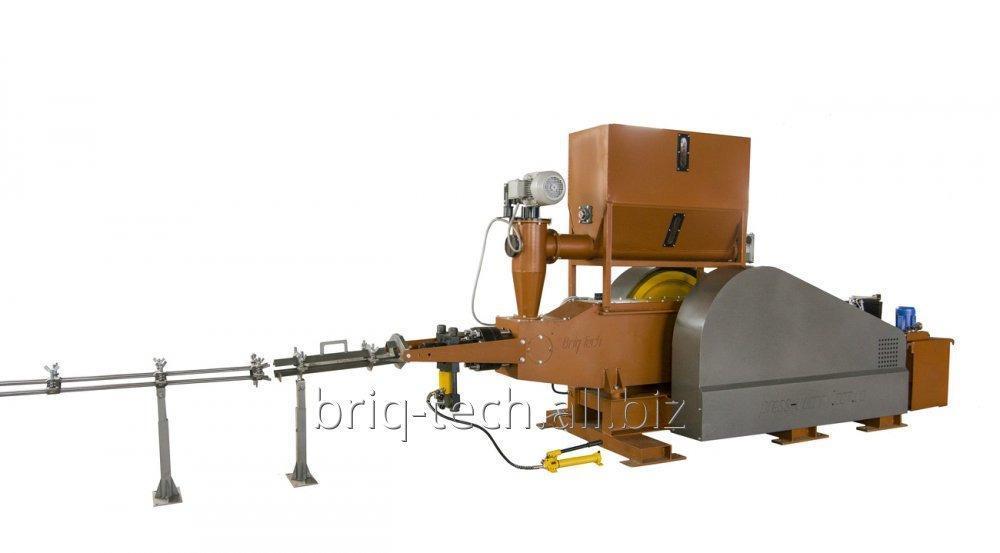Брикетирующий пресс для производства топливных брикетов ПБУ-080-900