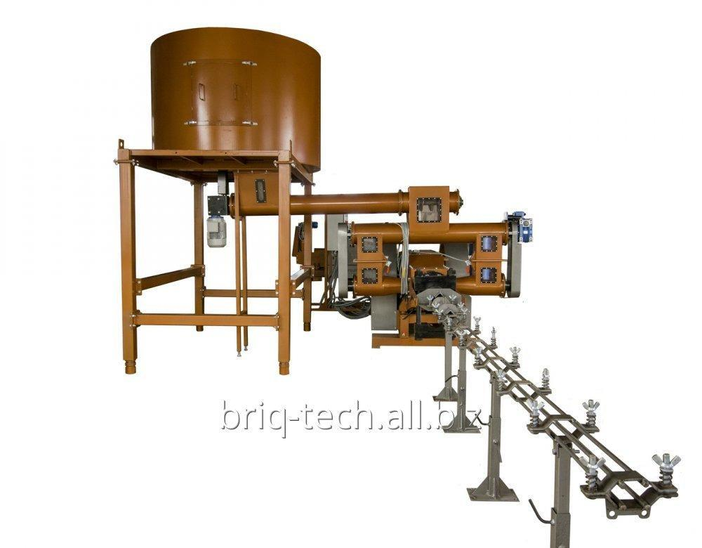 Пресс брикетирующий ударно механический ПБУ-090-900 М производительностью 900-1200 кг в час