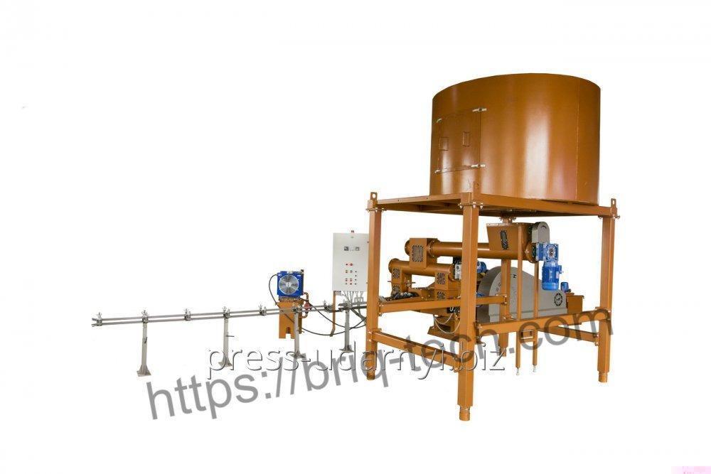 Ударно механический пресс для брикетирования древесных опилок ПБУ-070-800 М