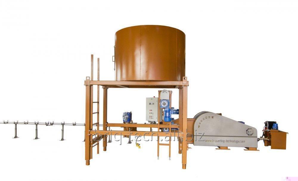 La presión briketiruyuschy con urgencia mecánico ПБУ-080-900, la productividad de 900-1200 kg/hora