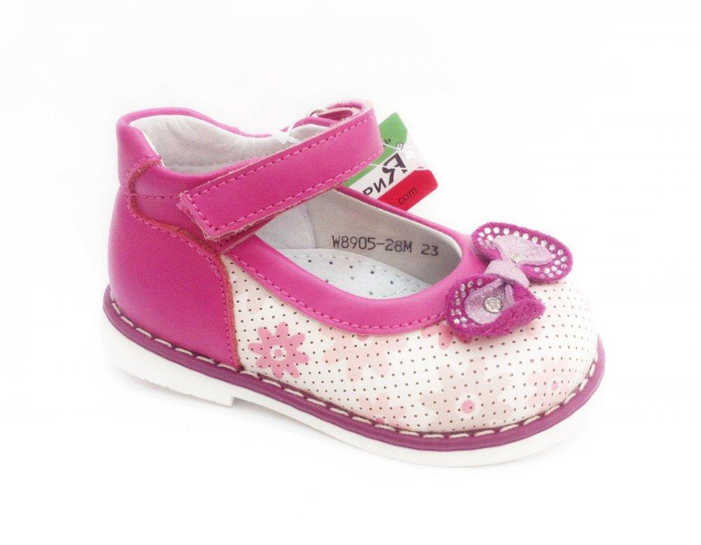 ea350c244 Ортопедические туфли для девочек W8905-28М, купить в Одессе
