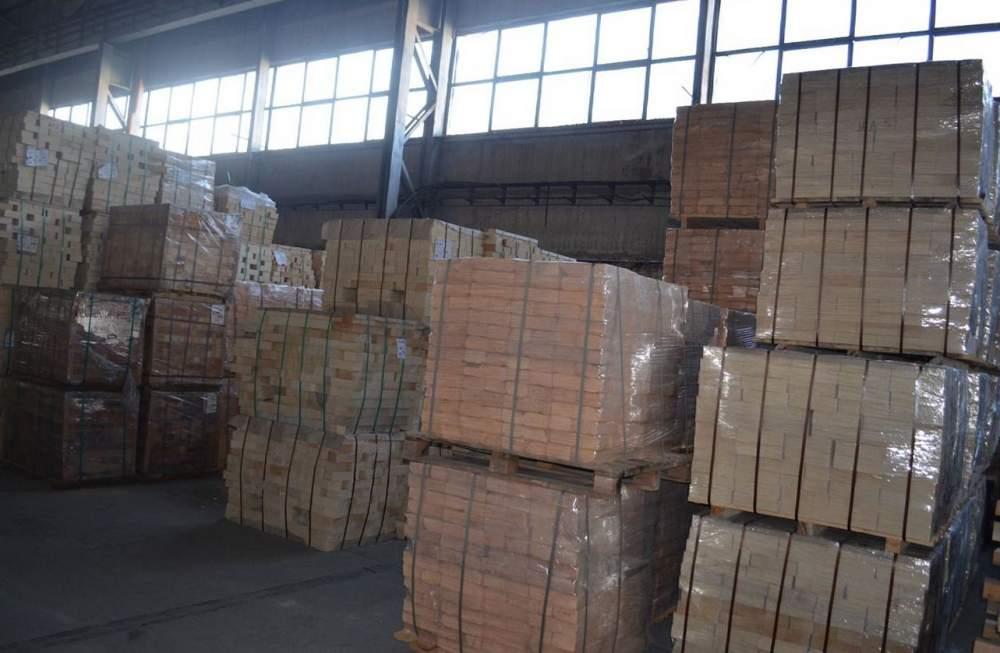 Buy The brick fire-resistant dinasovy symmetric the DV 15 brand the size is 345х150х110х100 mm