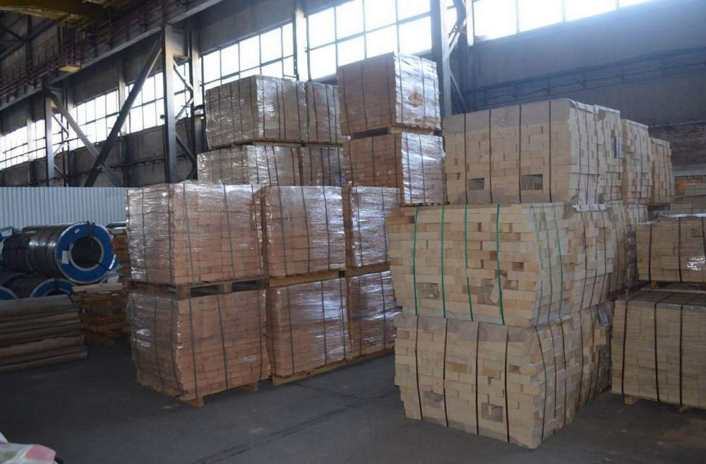 Buy Brick fire-resistant dinasovy maple rebrovy bilateral DV 88, 230kh113kh65kh55mm brand