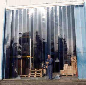 Теплоизоляция помещений шторами ПВХ