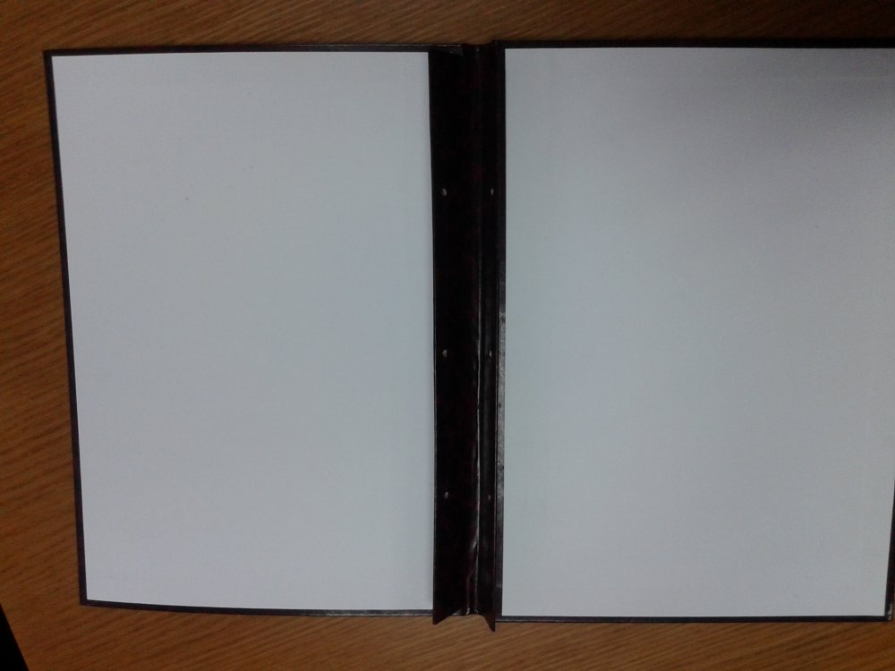 Папка с гребешками - для документов