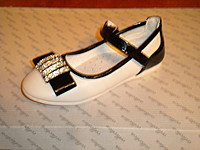 Buy Shoes for the girl white with black the Sun the 28th size