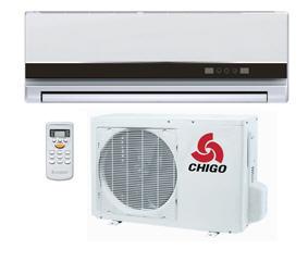 Купити Кондиціонер Chigo Deluxe. Стильний дизайн - підійде для будь-якого інтер'єру. Основні режими охолодження / обігрів.