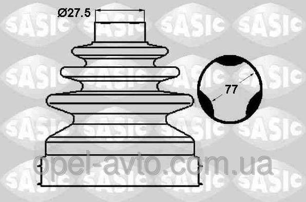 Купить Пыльник шруса внутренний OPEL Vivaro / Renault Trafic 2.5 dCI 06- - SASIC ? 1904039