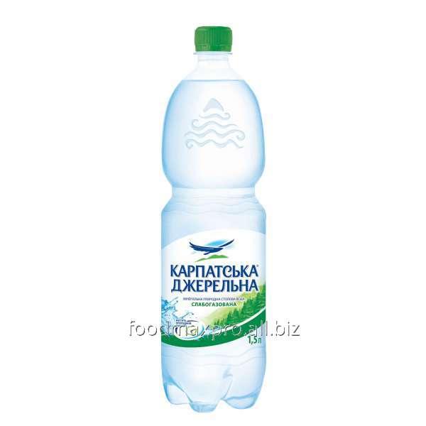 Купить Вода минеральная Премія КарпатДжер стол сл/газ 1,5л